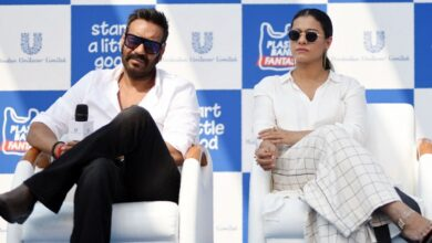 "Photo of Photos: Ajay Devgn, Kajol Devgn attend the launch of campaign ""Start a little Good"""