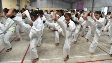 Photo of Tribal students clinch international medals in Karate