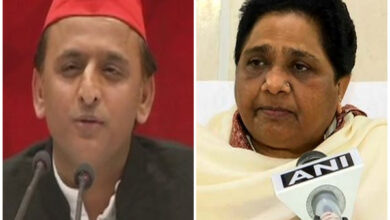 Photo of Mayawati, Akhilesh pay tribute to Kanshi Ram