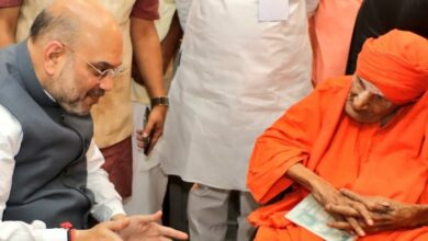 Photo of Amit Shah expresses grief over Shivakumara Swami's demise