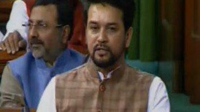 "Photo of PM Modi interview: Anurag Thakur tears into Rahul for calling ANI editor ""pliable"""