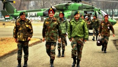 Photo of JK: Northern Army Commander reviews security situation, counter-terrorism operations