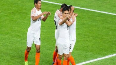 Photo of India kick-start Asian Cup campaign with 4-1 victory over Thailand