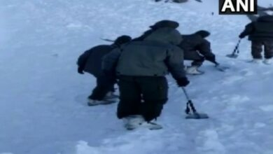 Photo of 10 policemen trapped in J&K avalanche