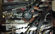 Huge cache of prohibited weapons recovered from BJP leader