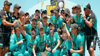 Photo of Beth Mooney guides Brisbane Heat to maiden WBBL title