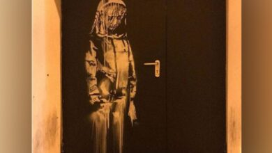 Photo of Banksy mural at Paris' Bataclan theater stolen