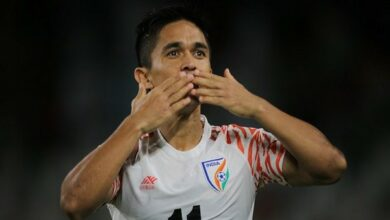 Photo of Being chosen for Padma Shri is just pure happiness, says famous footballer Sunil Chhetri