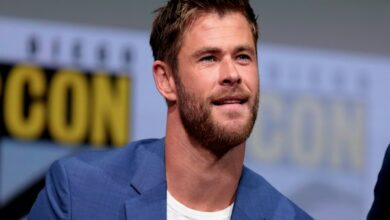Photo of Chris Hemsworth giving major fitness goals with new video