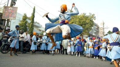 Photo of Guru Gobind Singhji Jayanti Procession