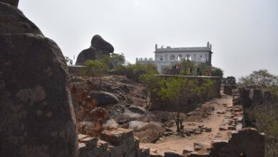 Photo of Heritage Activists decry toilet at Golconda Fort in Hyderabad