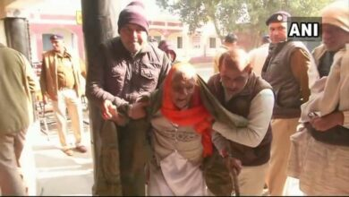 Photo of Jind: People brave cold to cast votes, 101-year-old among voters