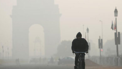 Photo of Cold, cloudy morning in Delhi