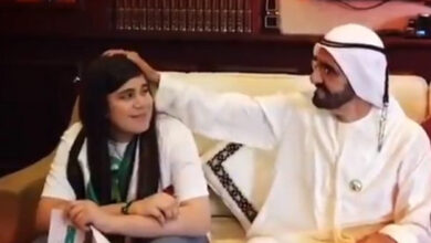 """Photo of """"This country is your country too"""": Dubai ruler surprises Iraqi ecstatic over UAE win"""