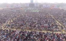 Thousands gather to witness opposition unity in Kolkata