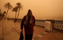 5 killed in Egypt sandstorm