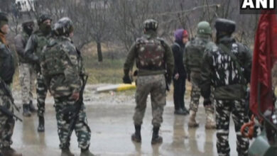 Photo of Two terrorists gunned down, ammunition recovered in J-K
