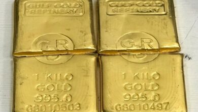 Photo of 15 kg gold robbed from finance company firm in UP's Meerut