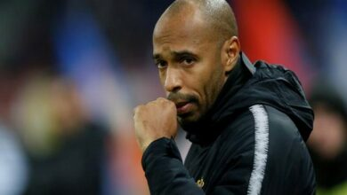 Photo of Thierry Henry sacked as Monaco coach, replaced by Leonardo Jardim