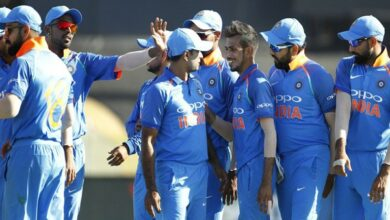 Photo of Tauranga ODI: Indian bowlers on the roll, bundle out Kiwis for 243