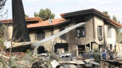 Photo of Kyrgyz cargo plane crashes in Tehran, 7 dead