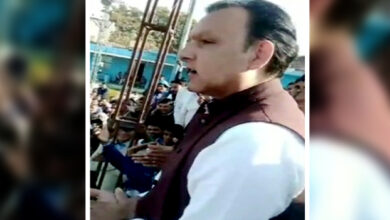 Photo of I respond to stones with AK-47: BSP leader's shocking threat caught on camera