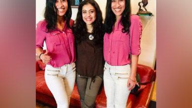 Photo of Kajol celebrates girl power with Everest twins Tashi and Nungshi Malik