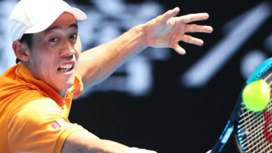 Photo of Australian Open: Kei Nishikori progresses after Kamil Majchrzak retires