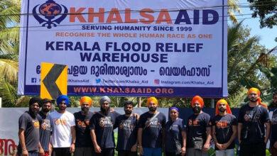 "Photo of ""We don't walk away"": Khalsa Aid still rebuilding Kerala after floods"