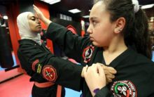 Arm with martial arts, Kuwaiti girls counter bullies and violence
