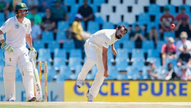 Photo of Mohammed Shami becomes fastest Indian bowler to reach 100 ODI wickets