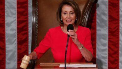 Photo of Nancy Pelosi named House speaker