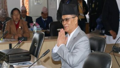 Photo of Nepal's new CJ to take oath on Wednesday