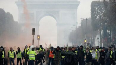 Photo of Those who continue protest want to overthrow government: France