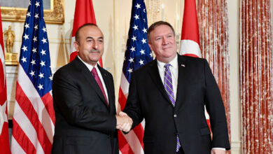 Photo of Foreign ministers of the US, Turkey discuss the Syrian crisis