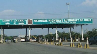 Photo of Tension at toll plazas in morning, Collection of toll