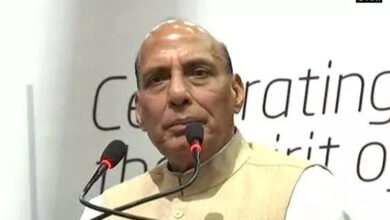 Photo of Why can't Modi be hailed for airstrikes, asks Rajnath