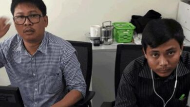 Photo of Top Myanmar court turns down Reuters journalists' appeal