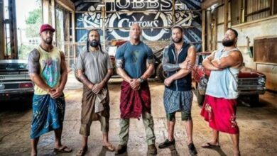 Photo of The Rock shares photo from new film, features Roman Reigns