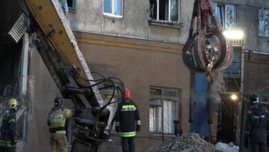 Photo of 37 dead in Russian building collapse
