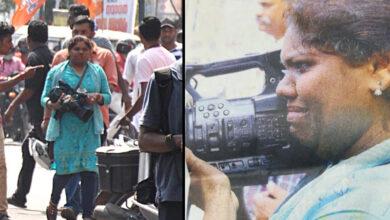 Photo of Sabarimala: Pic of weeping Shaajila Ali covering protest despite heckling goes viral