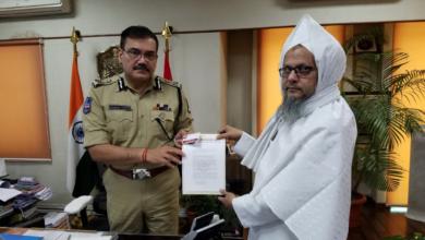 Photo of Maulana Jaffer Pasha Complaint against Controversial comments on Sahaba