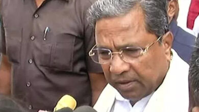 Photo of Siddaramaiah loses temper; caught on cam snatching mic from woman