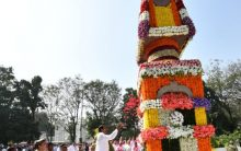 Floral Tribute to Martyrs