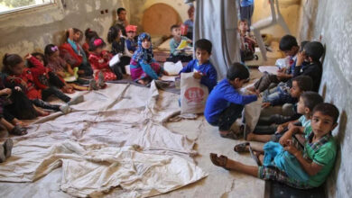Photo of Winter weather killed 15 displaced children in Syria: UN