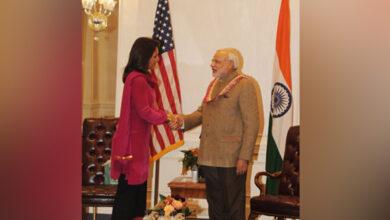 Photo of Hindu Congresswoman who gifted Bhagavad Gita to PM Modi enters US presidential race