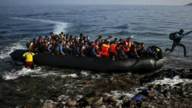 Photo of 66 refugees apprehended in Turkey