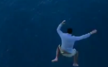 Man jumped from 11th floor of a Cruise ship for video, banned from Royal Caribbean for life