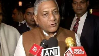 Photo of Pak's ban on Indian TV content won't end people to people contact: VK Singh