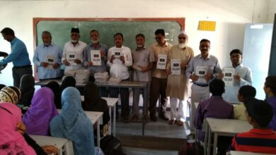 Photo of Siasat SSC Question Bank distributed at Adilabad and Nirmal, Ichoda